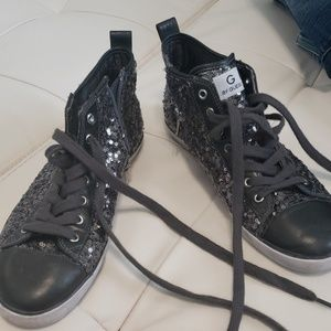 G by Guess sequin low tops